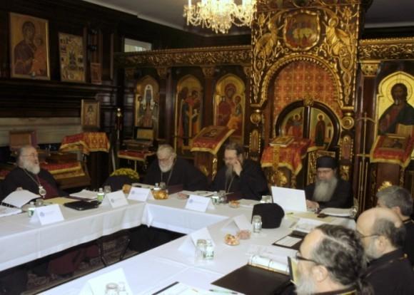 Заседание Синода в Америке