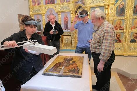 Торопецкая Икона Божией Матери в храме Александра Невского