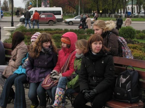 9 класс. Поездка в Кострому. 2010 г.