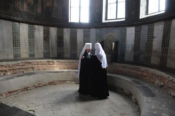 Святейший Патриарх Кирилл и Блаженнейший митрополит Владимир
