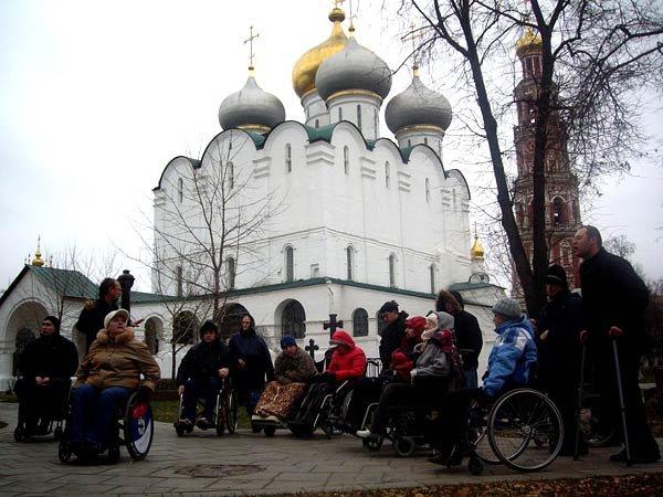 В Новодевичьем монастыре