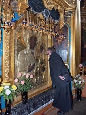 Смоленск. Икона Божией Матери ''Одигитрия''. Фото: Геннадий Титов
