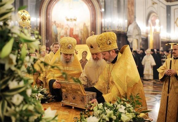 Пояс Пресвятой Богородицы в Москве. Фото Патриархия.ру (8)