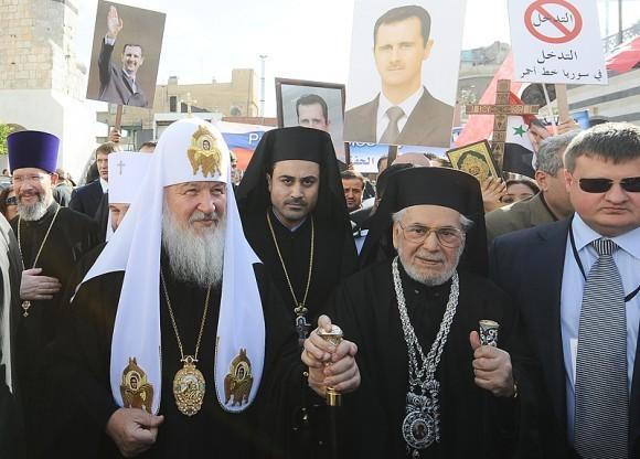 Патриарх Кирилл в Сирии (3)