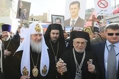 Патриарх Кирилл в Сирии (+ фото)