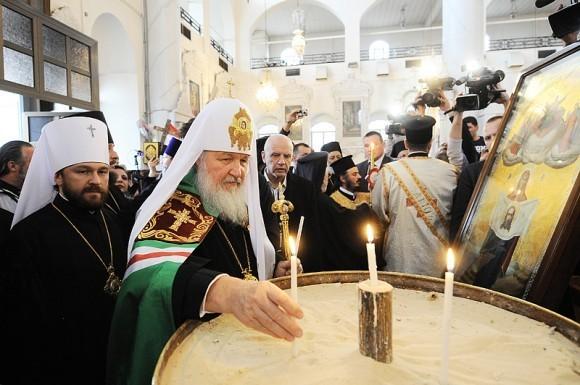 Патриарх Кирилл в Сирии (5)