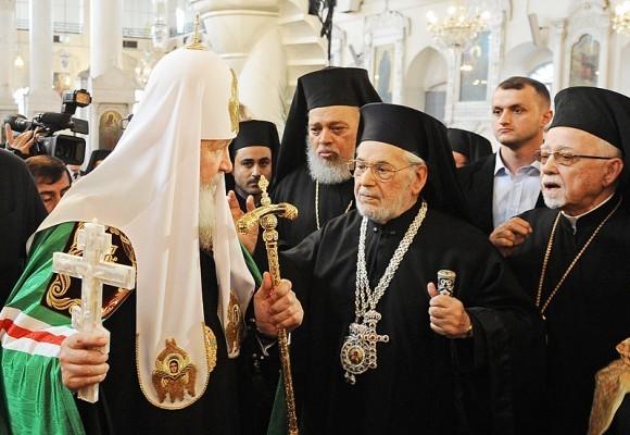 Патриарх Кирилл в Сирии (6)