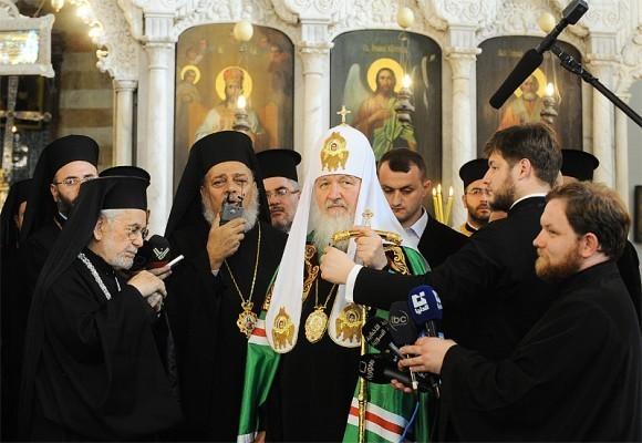 Патриарх Кирилл в Сирии (9)