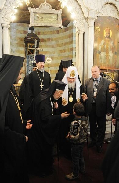 Патриарх Кирилл в Сирии (11)