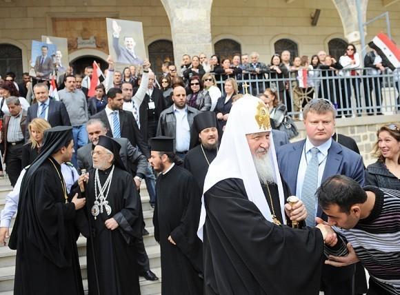 Патриарх Кирилл в Сирии (13)
