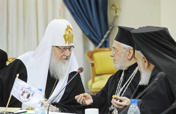 Патриарх Кирилл в Сирии (15)