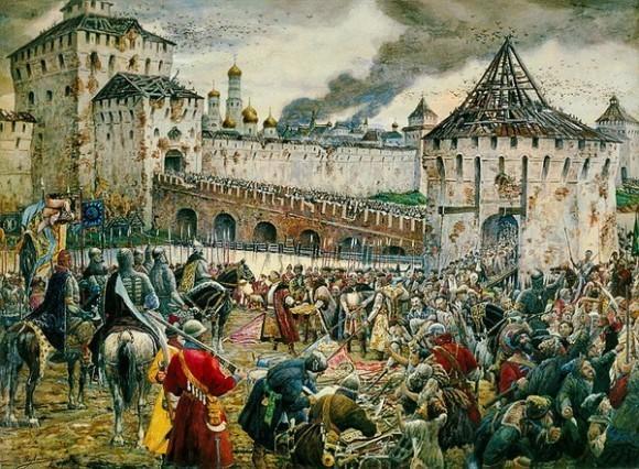 Изгнание поляков из Кремля. Ernest Lissner