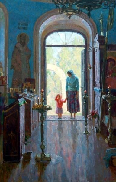"Анна Боганис ""Введение во храм"""