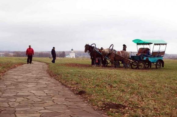 Дорога к Покрова на Нерли (1)