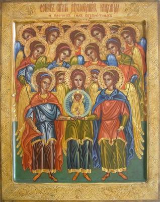 «Мера ангела»: размышление к празднику Собора бесплотных Сил