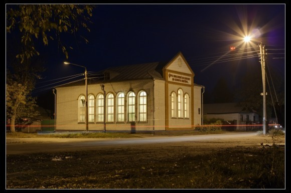 Баптистская церковь. photosight.ru. Фото: Вячеслав Заикин