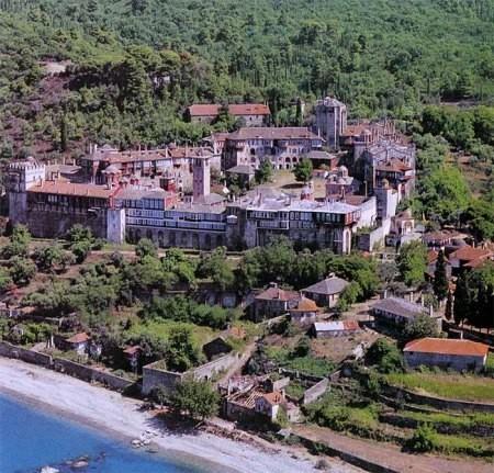 Благовещенский Афонский Ватопедский монастырь