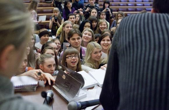 Иван Охлобыстин. Встреча со студентами журфака МГУ. Фото Анны Гальпериной (47)