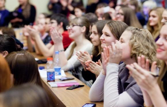 Иван Охлобыстин. Встреча со студентами журфака МГУ. Фото Анны Гальпериной (54)