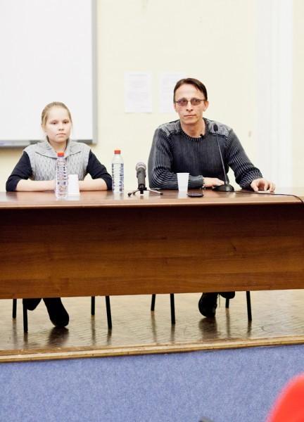 Иван Охлобыстин. Встреча со студентами журфака МГУ. Фото Анны Гальпериной (56)