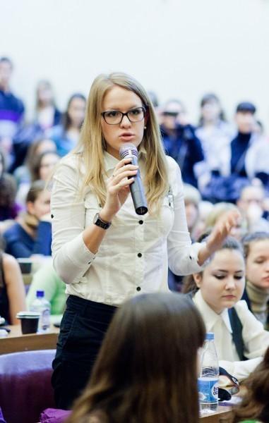 Иван Охлобыстин. Встреча со студентами журфака МГУ. Фото Анны Гальпериной (57)