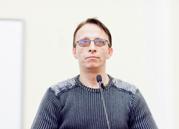 Иван Охлобыстин. Встреча со студентами журфака МГУ. Фото Анны Гальпериной (59)