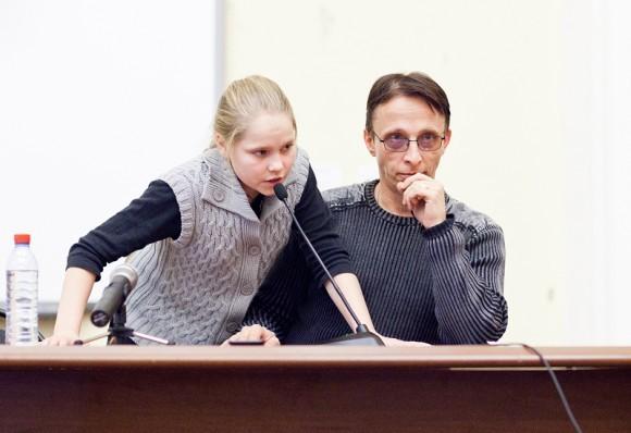 Иван Охлобыстин. Встреча со студентами журфака МГУ. Фото Анны Гальпериной (60)