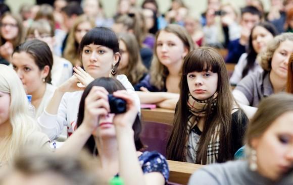 Иван Охлобыстин. Встреча со студентами журфака МГУ. Фото Анны Гальпериной (63)