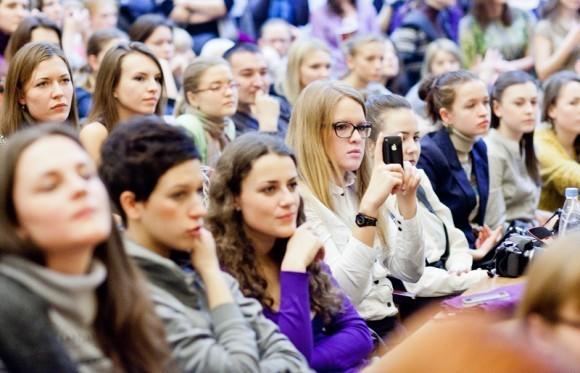 Иван Охлобыстин. Встреча со студентами журфака МГУ. Фото Анны Гальпериной (64)