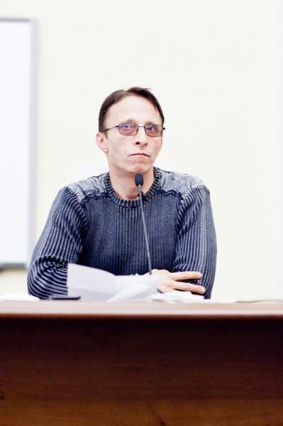 Иван Охлобыстин. Встреча со студентами журфака МГУ. Фото Анны Гальпериной (68)