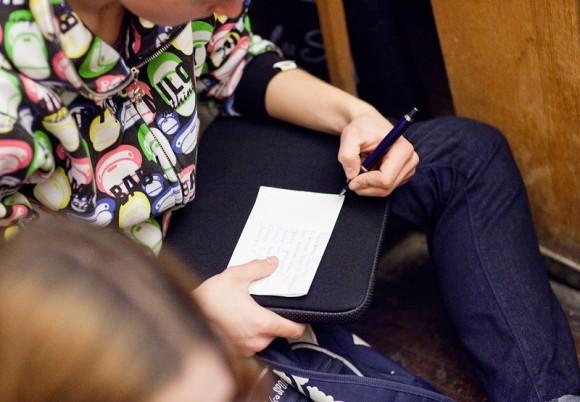 Иван Охлобыстин. Встреча со студентами журфака МГУ. Фото Анны Гальпериной (70)