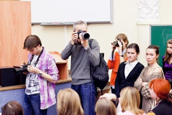 Иван Охлобыстин. Встреча со студентами журфака МГУ. Фото Анны Гальпериной (72)