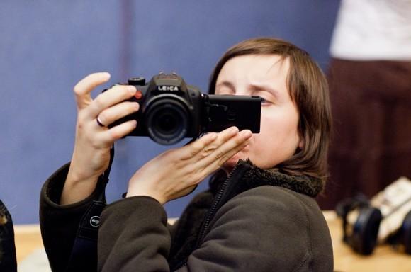 Иван Охлобыстин. Встреча со студентами журфака МГУ. Фото Анны Гальпериной (73)