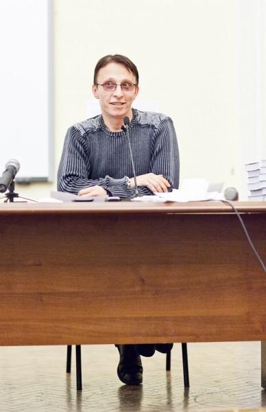 Иван Охлобыстин. Встреча со студентами журфака МГУ. Фото Анны Гальпериной (76)