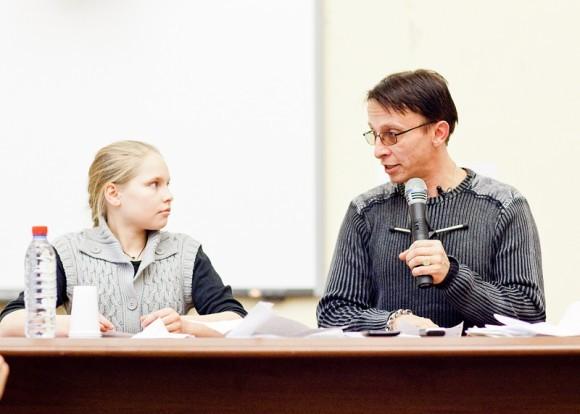 Иван Охлобыстин. Встреча со студентами журфака МГУ. Фото Анны Гальпериной (1)