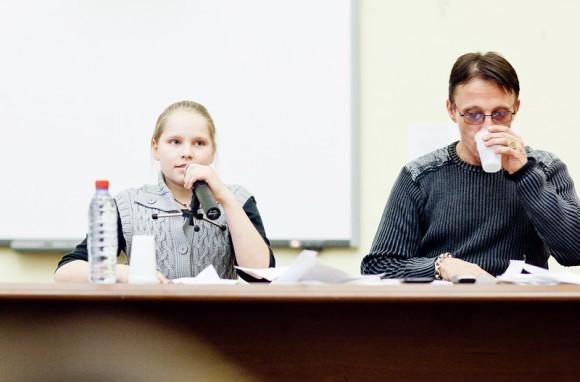 Иван Охлобыстин. Встреча со студентами журфака МГУ. Фото Анны Гальпериной (2)