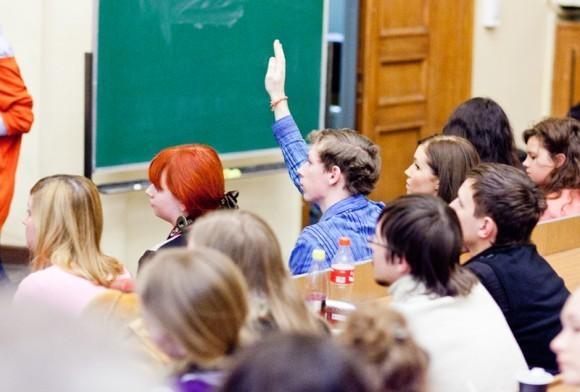 Иван Охлобыстин. Встреча со студентами журфака МГУ. Фото Анны Гальпериной (5)