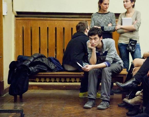 Иван Охлобыстин. Встреча со студентами журфака МГУ. Фото Анны Гальпериной (6)
