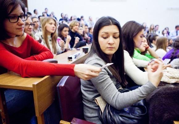 Иван Охлобыстин. Встреча со студентами журфака МГУ. Фото Анны Гальпериной (9)