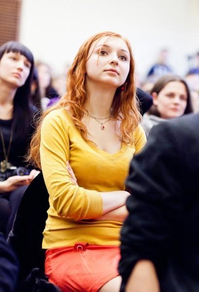 Иван Охлобыстин. Встреча со студентами журфака МГУ. Фото Анны Гальпериной (12)