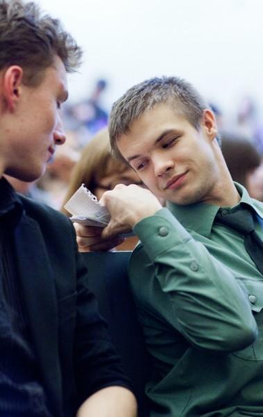 Иван Охлобыстин. Встреча со студентами журфака МГУ. Фото Анны Гальпериной (13)