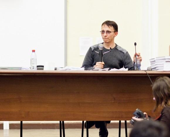 Иван Охлобыстин. Встреча со студентами журфака МГУ. Фото Анны Гальпериной (18)