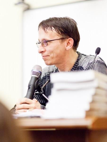 Иван Охлобыстин. Встреча со студентами журфака МГУ. Фото Анны Гальпериной (19)