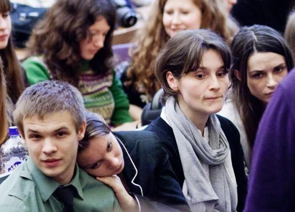 Иван Охлобыстин. Встреча со студентами журфака МГУ. Фото Анны Гальпериной (20)