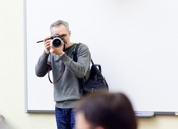 Иван Охлобыстин. Встреча со студентами журфака МГУ. Фото Анны Гальпериной (21)