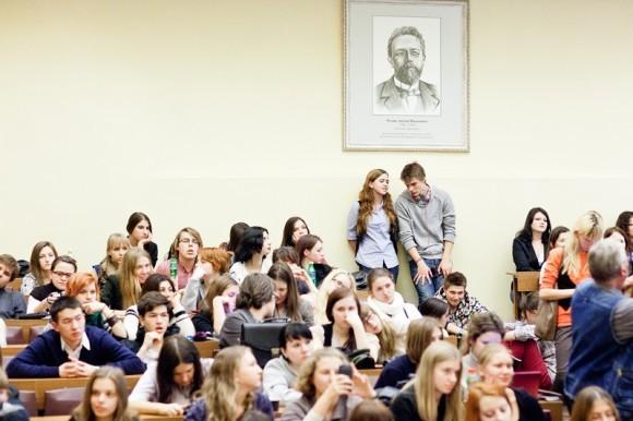 Иван Охлобыстин. Встреча со студентами журфака МГУ. Фото Анны Гальпериной (22)