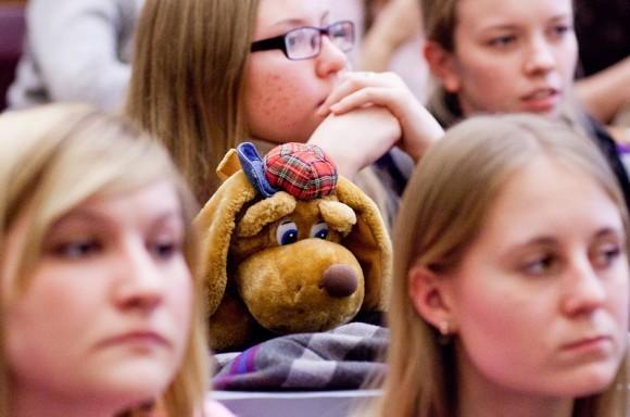 Иван Охлобыстин. Встреча со студентами журфака МГУ. Фото Анны Гальпериной (25)