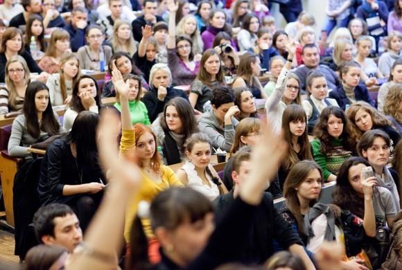 Иван Охлобыстин. Встреча со студентами журфака МГУ. Фото Анны Гальпериной (26)