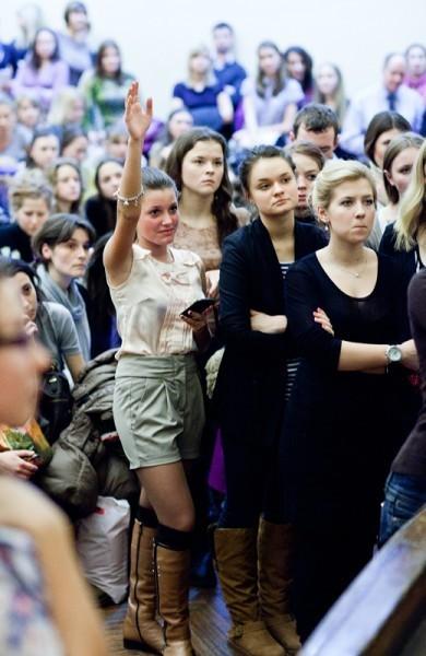 Иван Охлобыстин. Встреча со студентами журфака МГУ. Фото Анны Гальпериной (30)