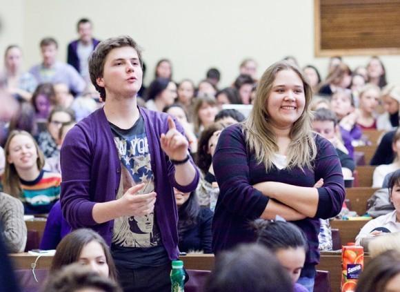 Иван Охлобыстин. Встреча со студентами журфака МГУ. Фото Анны Гальпериной (31)